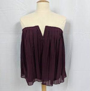 NWT Forever 21 Sexy Purple Off the Shoulder blouse
